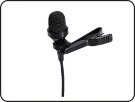 Wireless tour guide system - Lavalier mic